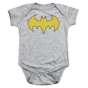 Other - Dc - Bat Girl Logo Infant Snapsuit